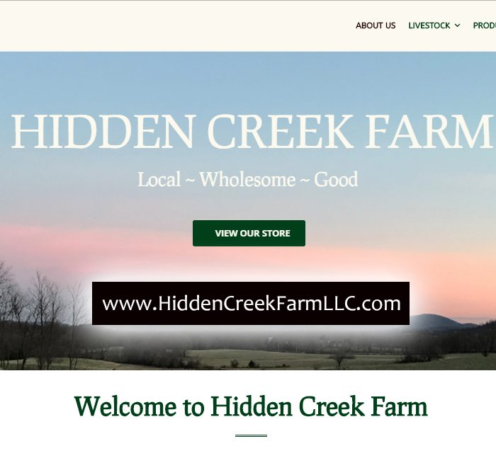 HiddenCreekFarmLLC.com